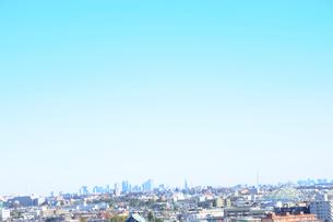 川崎市から見た東京遠望の写真素材 [FYI03182480]