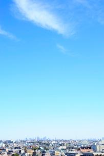川崎市から見た東京遠望の写真素材 [FYI03182483]