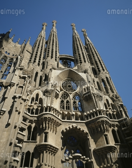 サグラダファミリア教会 スペインの写真素材 [FYI03182662]