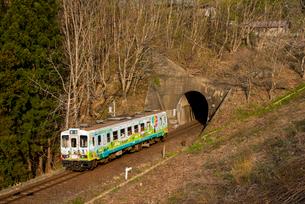 三陸鉄道北リアス線の写真素材 [FYI03182929]