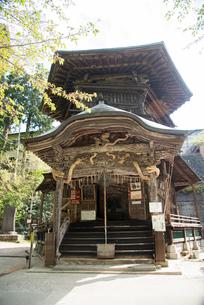 飯盛山さざえ堂の写真素材 [FYI03183031]