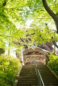 飯盛山さざえ堂の写真素材 [FYI03183035]