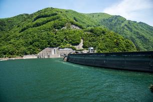 奈川渡ダムの写真素材 [FYI03184010]