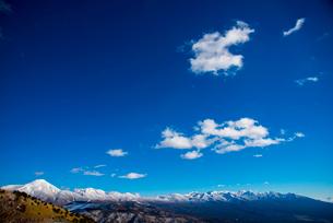 車山高原より八ヶ岳連峰を望むの写真素材 [FYI03185035]