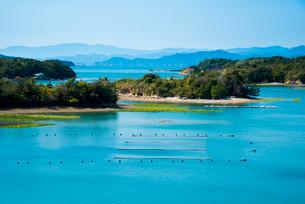 伊勢志摩 登茂山公園付近より英虞湾を望むの写真素材 [FYI03185356]