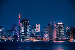 有明より東京夜景の写真素材 [FYI03185373]