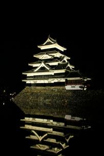 現存する日本最古の五重天守である松本城の写真素材 [FYI03185949]