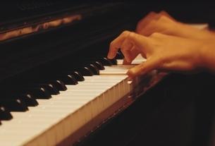 ピアノ演奏の写真素材 [FYI03186145]