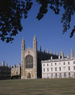 キングスカレッジのチャペル ケンブリッジ イギリスの写真素材 [FYI03186311]