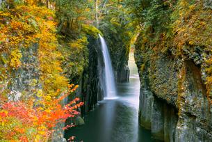 高千穂峡真名井の滝の写真素材 [FYI03187611]