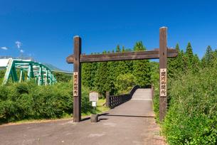 関川の関所の写真素材 [FYI03187979]