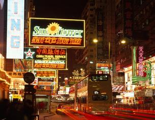 ネイザン・ロード 香港の写真素材 [FYI03188528]