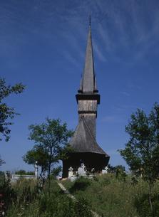 プロピシュの木造教会の写真素材 [FYI03188677]