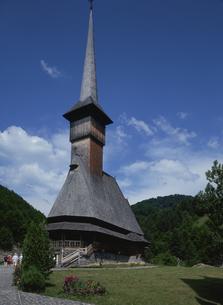ブルサナの木造教会の写真素材 [FYI03188681]