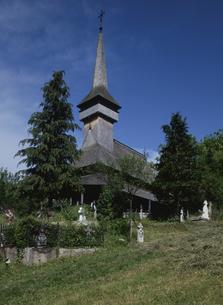 ポイエニレイゼイの木造教会の写真素材 [FYI03188687]