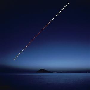 月食の写真素材 [FYI03188837]