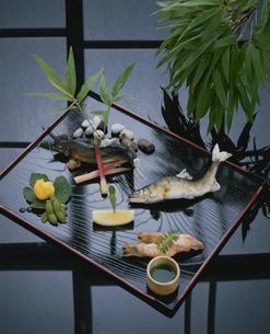 鮎料理の写真素材 [FYI03188844]