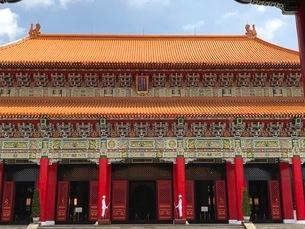 台湾 忠烈祠の写真素材の写真素材 [FYI03189162]