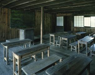 旧渋民小学校内部 岩手県の写真素材 [FYI03189656]