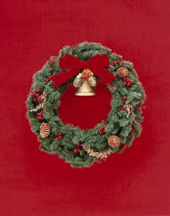 クリスマスリースの写真素材 [FYI03190105]