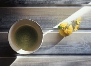柚子と抹茶の写真素材 [FYI03190451]