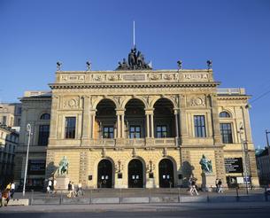 王立劇場  コペンハーゲン デンマークの写真素材 [FYI03191911]