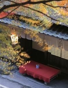 鮎茶屋のつたや 嵯峨野 京都府の写真素材 [FYI03192056]