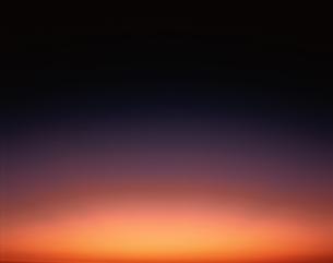 夕映えの空の写真素材 [FYI03192086]