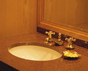 洗面所のボウルの写真素材 [FYI03192360]