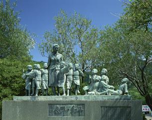 平和の群像  小豆島 香川県の写真素材 [FYI03192956]