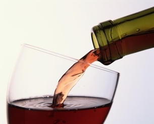 ワインの注ぎ口の写真素材 [FYI03193434]