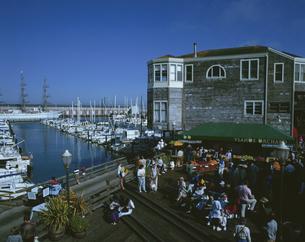 フィッシャーマンズワーフ サンフランシスコ アメリカの写真素材 [FYI03193573]