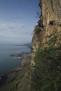朝景のテン池  西山 昆明 中国の写真素材 [FYI03193587]