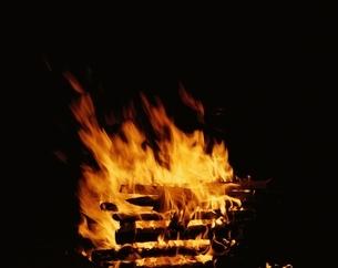 たき火の写真素材 [FYI03193615]