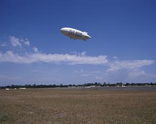 飛行船 シドニー郊外 オーストラリアの写真素材 [FYI03193685]
