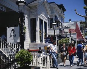 ユニオンストリートにてサンフランシスコ  アメリカの写真素材 [FYI03193732]