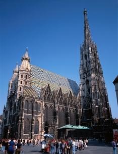 ウィーン大聖堂  ウィーン オーストリアの写真素材 [FYI03193768]