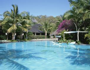 ハミルトン・リゾートホテル  プール  オーストラリアの写真素材 [FYI03193789]