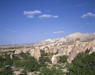 カッパドキア名物キノコ岩     トルコの写真素材 [FYI03193932]