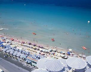 レディースビーチ  クシャダス トルコの写真素材 [FYI03194082]