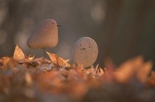 石の鳥の写真素材 [FYI03194151]