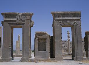 ダレイオス一宮殿  ペルセポリス イランの写真素材 [FYI03194218]