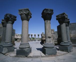 スヴァルトノツ教会  アルメニアの写真素材 [FYI03194398]