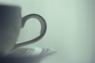 白いティーカップの写真素材 [FYI03197118]