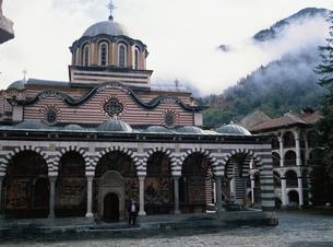 リラの僧院   ブルガリアの写真素材 [FYI03197218]