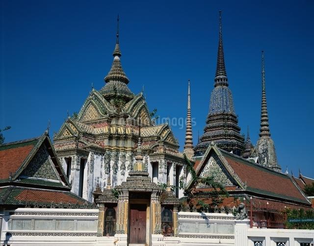 ワットポー  バンコク タイの写真素材 [FYI03197493]