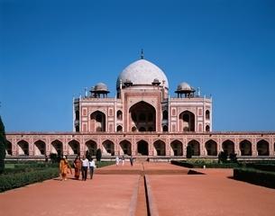 フマーユーン廟    デリ インドの写真素材 [FYI03197564]