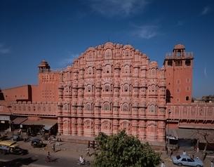 風の宮殿(ハワー・マハル)   ジャイプル インドの写真素材 [FYI03197572]
