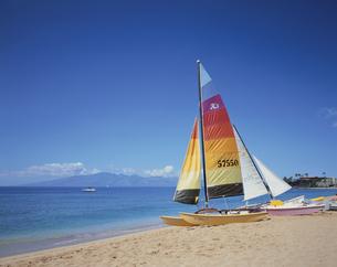 カアナパリ・ビーチ  マウイ島 ハワイの写真素材 [FYI03197745]