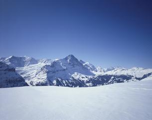 フイルストよりアイガー方面 スイスの写真素材 [FYI03198307]